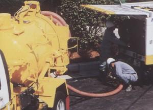 下水道管清掃作業2